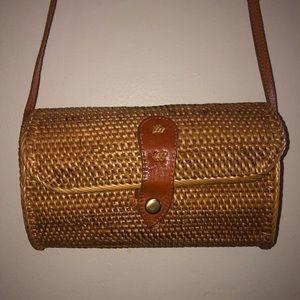 Handbags - Straw summer bag